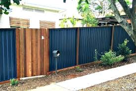 corrugated metal fence cost corrugated metal wood fence exotic cost how much does a