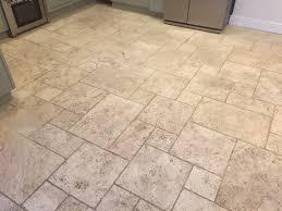 Limestone Floor Tiles Kitchen Filthy Limestone Tiled Floor Restored In A Maidenhead Kitchen