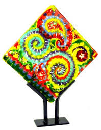 Fused Glass Display Stands Display Stands for Glass Sundance Art Glass Center 94