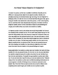 essays on moral values co essays on moral values