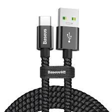 Baseus double <b>fast</b> charging USB cable for Type-C <b>5A</b> 1M