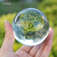 xintou clear crystal sphere ball 60 mm feng s chakra healing gemstone photography globe desk decorative