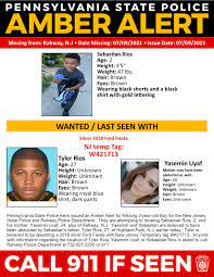 Statewide Amber Alert Issued for 2-Year ...