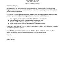 Registered Nurse Cover Letter Aged Care Cover Letter Templates