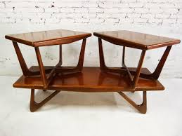 mid century modern coffee table glass top tables and s