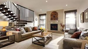 Living Room Decor With Fireplace Awesome Living Room Design Exposed Stone Fireplace With Wooden
