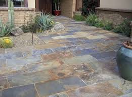Slate Patio Tiles: Best Outdoor Flooring  Slate patio tiles floor for  traditional outdoor patio flooring