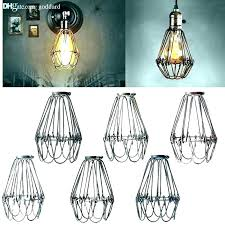 clip on ceiling light bulb covers glass cover for chandeliers shades li