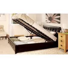 Sorrento Bedroom Furniture Sorrento Faux Leather Upholstered Storage Ottoman
