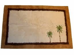 bathroom palm tree bath rugs marvellous bathroom embroidered trees mat rug accent your palm tree