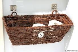 bathroom basket organizer bathroom wall mounted bathroom storage basket bathroom basket storage unit