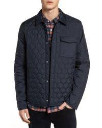 Original penguin Lightweight Onion Quilted Jacket in Blue for Men ... & Original Penguin | Lightweight Onion Quilted Jacket | Lyst Adamdwight.com