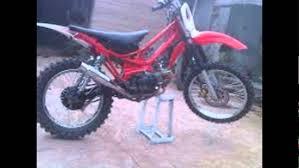 modifikasi motor trail motorplus modif trail yamaha vega r modif trail penakan grastrack you