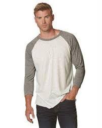 Next Level Raglan Shirt Size Chart Next Level Unisex Tri Blend Three Quarter Sleeve Baseball Raglan Tee 6051