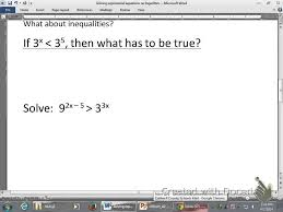 4214 solving exponential equations without logarithms you maxresdefault watch v ox4svwxvnws