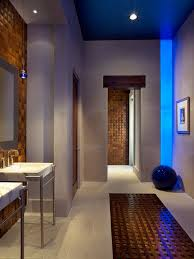 spa bathroom lighting. Blue Led Strips And LED Recessed Lighting Spa Bathroom T