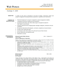 Project Manager Job Description Template Project Manager Resume