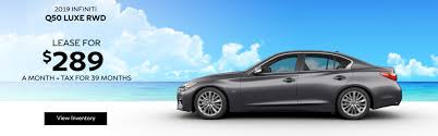 q50 luxe lease for 289