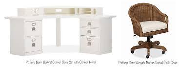 pottery barn bedford corner desk set with corner hutch photo source pottery barn