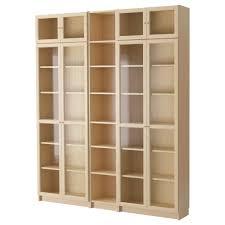 BILLY / OXBERG bookcase, birch veneer Width: 78 3/4