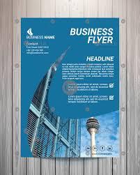 business flyer design templates modern blue elegant business flyer design template vector uxoui