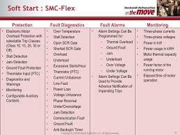 industrial control motor overload protection 50 soft start smc flex