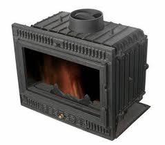 cast iron fireplace insert tst007 image