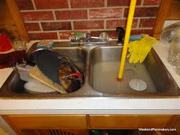 how to clear blocked kitchen unique blocked kitchen sink