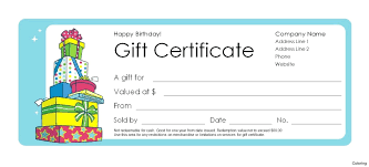 Gift Certificate Word Template Microsoft Gift Certificate Template Vouchers Word Birthday 18