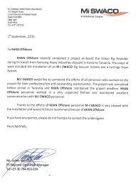 Appreciation Letter Khan
