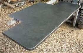 dark grey brazilian riven slate fireplace hearth