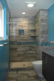 Tile And Decor Denver We Installed Slate Tiles With Mosaic Shower Base And Weathered Wood 45