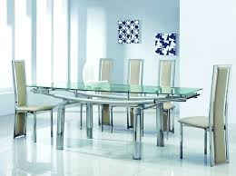 glass kitchen table set nice luxury glass top dining tables chair luxury glass dining table set