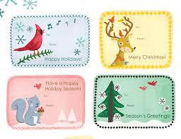 12 Free Printable Christmas Gift TagsChristmas Gift Tag Design