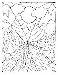 Nature Coloring Pictures Coloring Pages Nature Free Nature Coloring