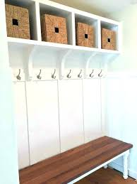 Bench Coat Rack Plans Delectable Foyer Bench Ideas Foyer Bench Plans Awesome Storage For Benches