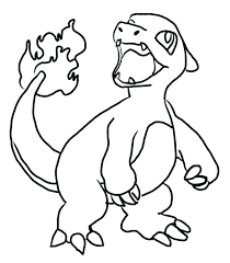 Pokemon Charizard Coloring Pages Plrappco
