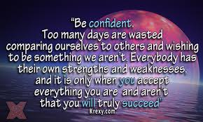 Be Confident Quotes Mesmerizing Confidence Success Quotes Be Confident Too Many Days A Krexy