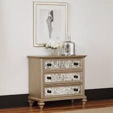 Image Bush Furniture Home Styles Visions 3drawer Silver Gold Champagne Finish Chest Gavigans Furniture Home Styles Visions 3drawer Silver Gold Champagne Finish Chest5576