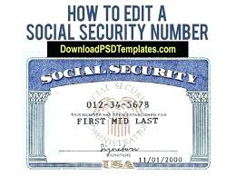 Security Template Blank Card Download Pdf Free Social