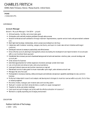 Account Manager Resume Sample Account Manager Resume Sample Velvet Jobs 5