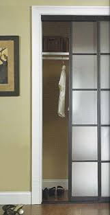 Wallpaper Mirrored Closet Doors Makeover How To Cover With Fabric