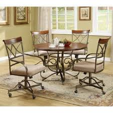 por of leather dining chairs with casters with leather dining room chairs with casters tdprojecthope