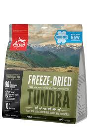 Freeze Dried Food Conversion Chart Orijen Tundra Freeze Dried Grain Free Dog Food