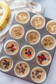 Healthy Banana Oatmeal Blender Muffins [Gluten-free | Dairy-free ...