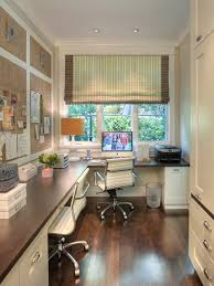 home office corner. Stylish Window Shade With Classic Dark Wooden Finished Floor For Elegant Home Office Decorating Ideas Modern Corner Desk Build Cheap Glass Built In Computer