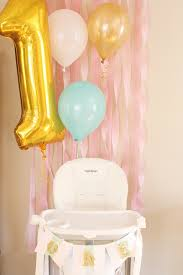 first birthday high chair decorations project nursery