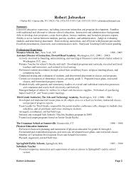 Resume For Teachers Examples 2016 Pertaining To How Write A