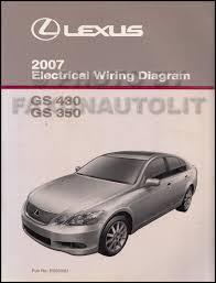 2007 lexus gs 450h wiring diagram manual original 2007 lexus gs 430 350 wiring diagram manual original 119 00