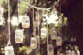 all you need is twine candles and jars